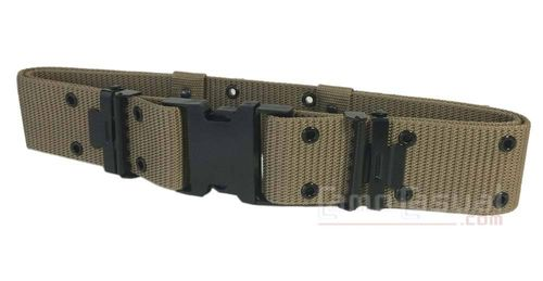 Cinturon LC2 Coyote tan Miltec combate airsoft caza