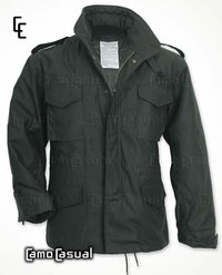 Chaqueta Field Jacket M65 Negro Casual militar - Surplus
