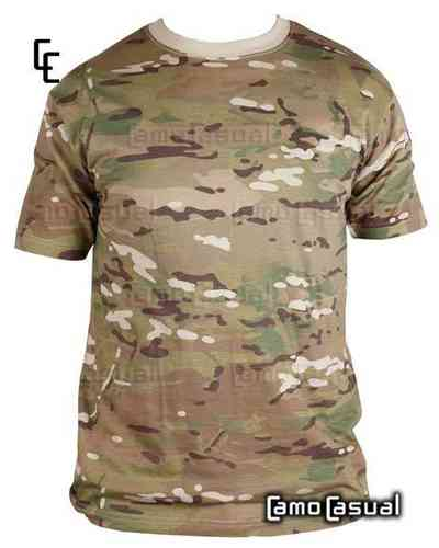 Camiseta UTP colores multicam camuflaje