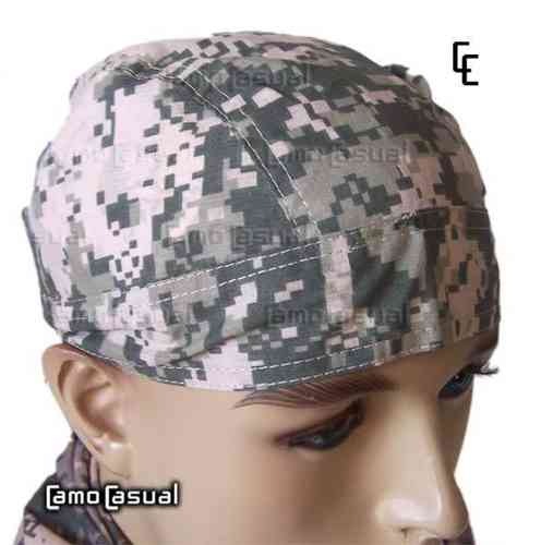 Bandana tipo militar ACU AT Digital camuflaje