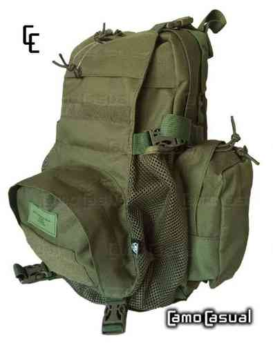 Mochila verde Molle chaleco Assault Pack Molle MAP