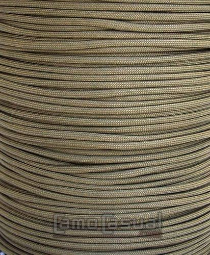 Paracord tipo III 550 tan 499 - 4mm cuerda
