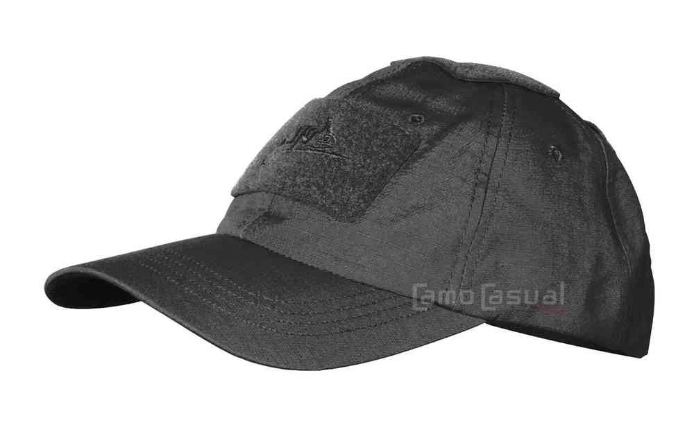 Gorra beisbol negra tactica RS tipo contratista PMC Helikon caza 30da11bcc62