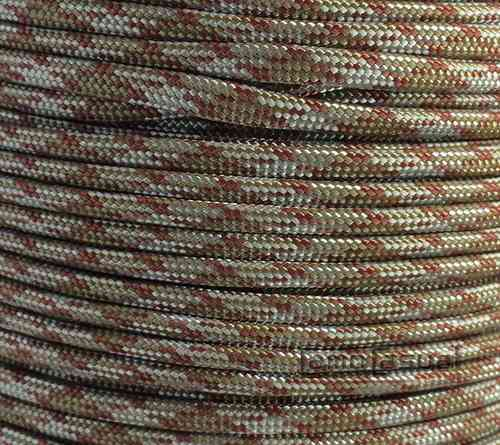 Paracord tipo III 550 desert copperhead - 4mm - 1 m