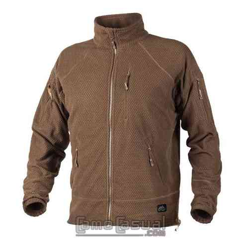 Softshell chaqueta rejilla Mud Coyote polar Alpha táctical