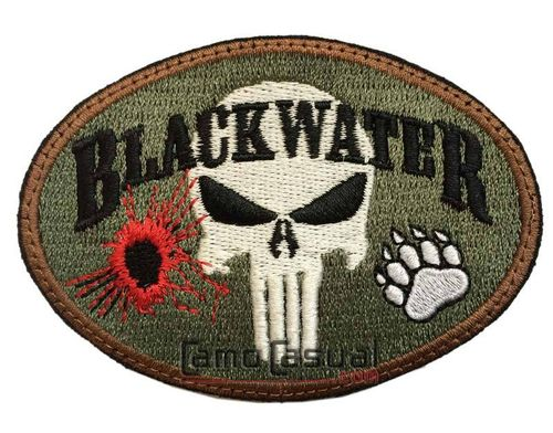 Parche punisher blackwater multicam cinta cierre