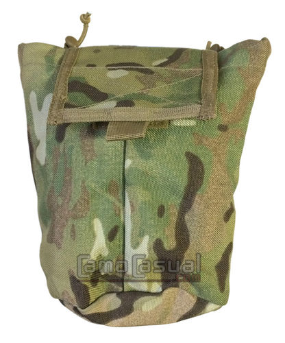 Bolsa descarga plegable camuflaje multicam original
