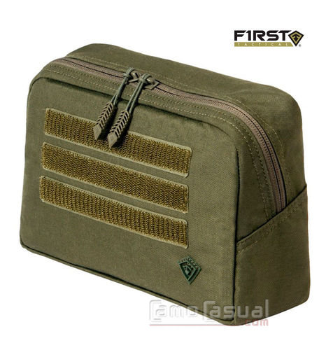 Pouch verde olive green Tactix 23x15 cm táctico First Tactical