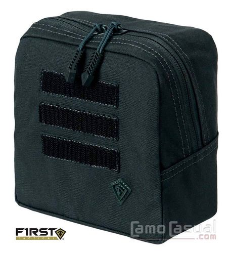 Pouch Bolso negro Tactix 15x15 cm - molle