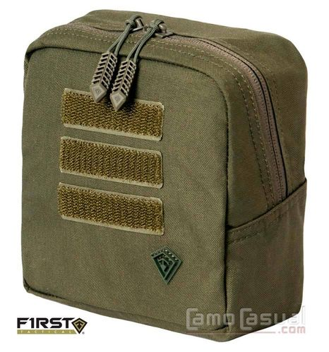 Pouch Bolso verde oliva Tactix 15x15 cm molle swat