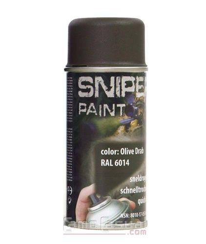 Spray verde OD pintura 150 ml secado rápido militar