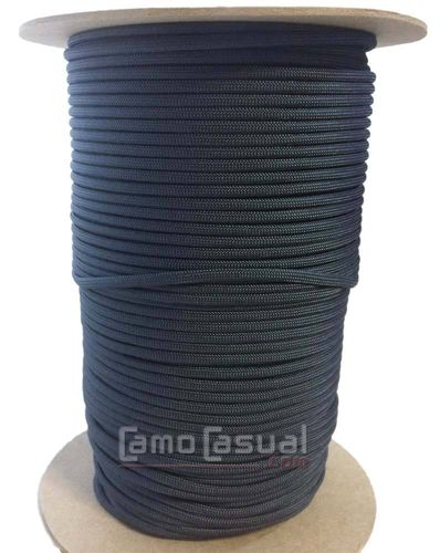 Paracord tipo III 550 4 mm Azul Navy Blue 1 metro