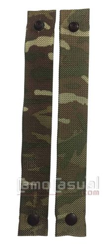 Par de correas auxiliares 38 mm originales MTP camo