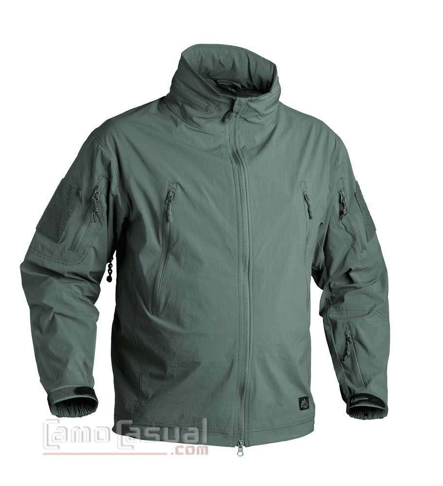 Helikon Hombres Patriot Vell/ón Chaqueta Sombra Gris