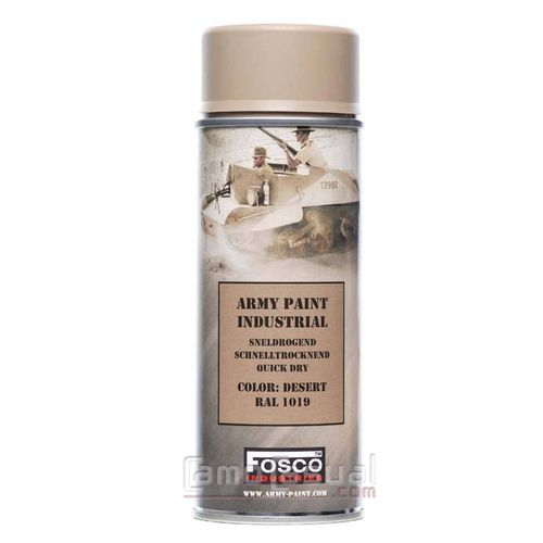 Spray arena Desert RAL 1019 pintura 400 ml secado rapido
