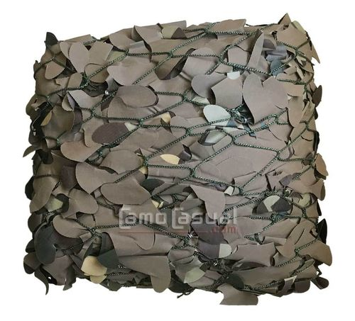 Red caza BLMD camuflaje Flyway pantano 1,5x6 malla marrón