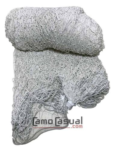 Rollo base red solo malla 3x50m blanco