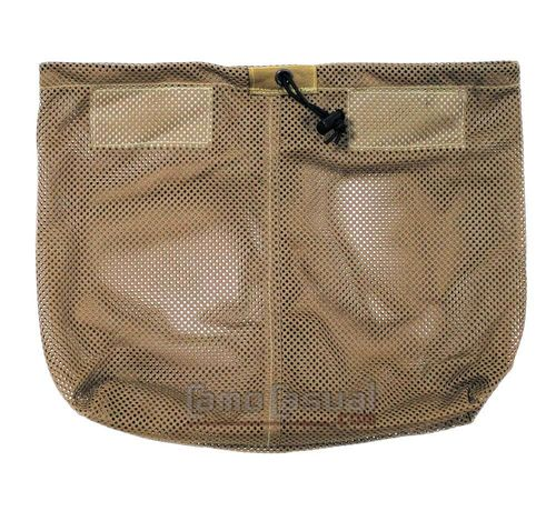 Bolso casco inglés malla original coyote brown