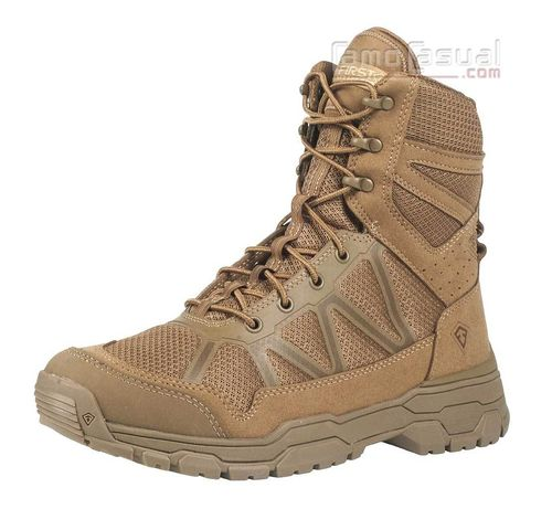 Bota táctica operator coyote 7 pulgadas First Tactical