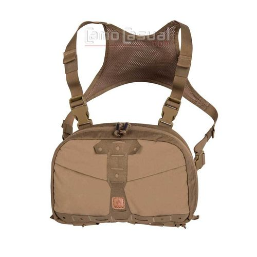 Bolso Chest pack Numbat coyote Helikon Bushcraft viaje