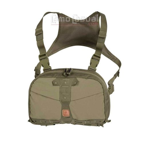 Bolso Chest pack Numbat verde adaptivo Helikon Bushcraft viaje