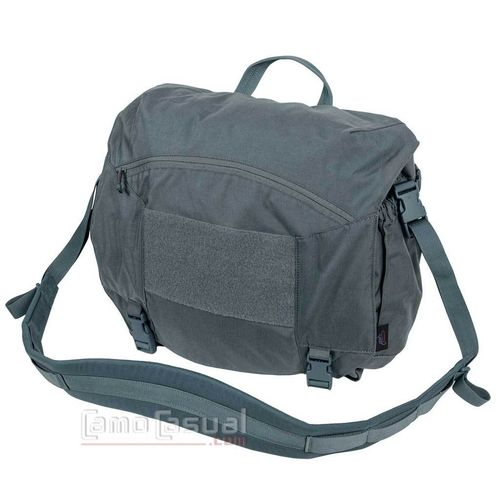 Bolso Urban Courier Large grande Shadow grey Helikon