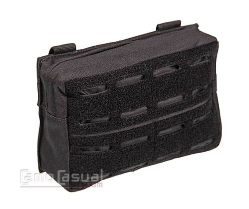 Pouch negro Horizontal molle láser con Panel frontal