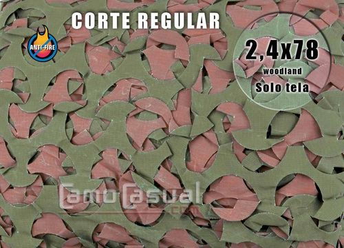 Red de sombreo corte regular Woodland 2,4x78 m PROFIRE