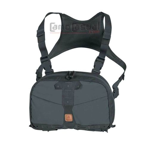 Bolso Chest pack Numbat gris Shadow Helikon Bushcraft viaje