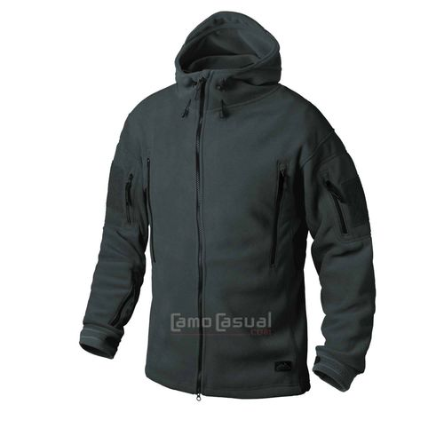 Chaqueta táctica polar doble Patriot Jungle green Helikon