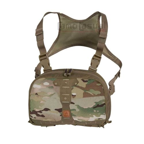 Bolso Chest pack Numbat camuflaje multicam / verde adaptivo