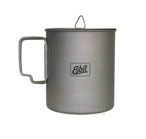 Olla - Pot Titanio 750 ml Esbit PT750-TI ultraligero 106 gr