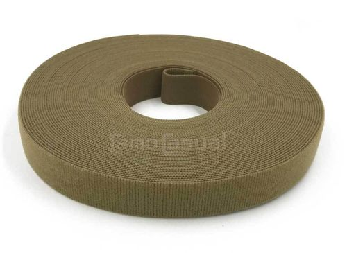 1 Rollo 25 yardas - 22,9 m Cinta marca VELCRO® ONE-WRAP® coyote 25 mm